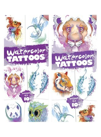 Water Color Tattoos (Series #1)