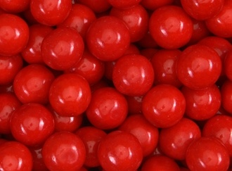 Really!! Cherry Gumballs 23 mm
