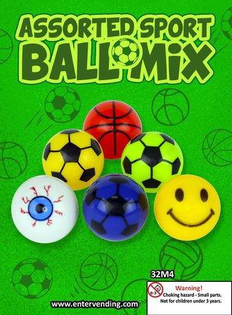Assorted Sport Ball Mix (display)