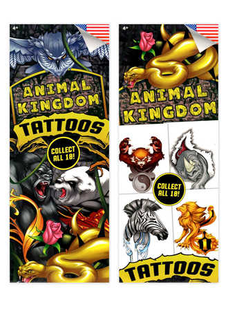 Animal Kingdom Tattoos (display)