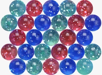 Sparkle Mixed Balls 27 mm