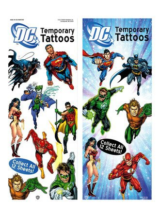 Tattoos DS Superhero (display)