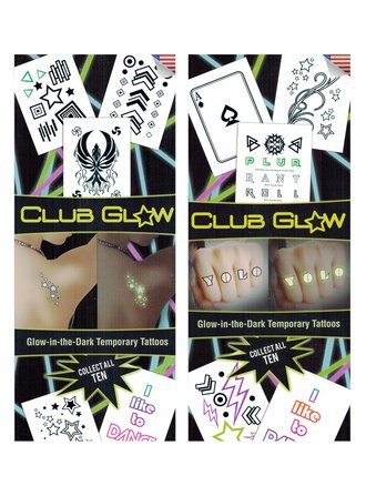 Club Glow Tattoo (Series #1)