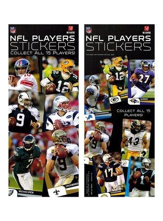 Stickers NFL Players (display)