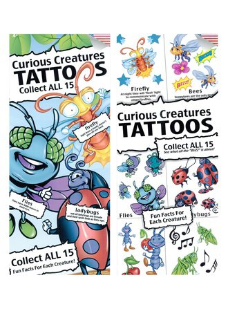 Curious Creatures Tattoo (Series #1)
