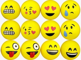 Emoji Printed Balls 45 mm