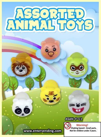 Assorted Animal Toys (display)