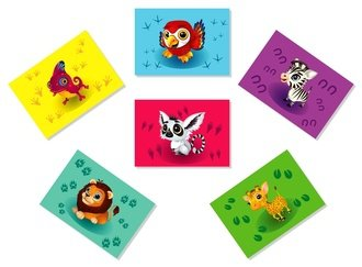 Animals Magnets (seria 2)