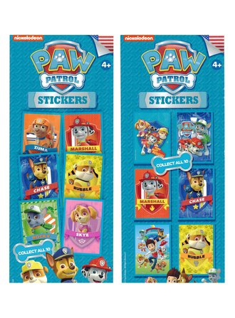 Nickelodeon Paw Patrol Stickers (Series #1)