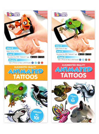 Animated Augmented Reality Tattoos