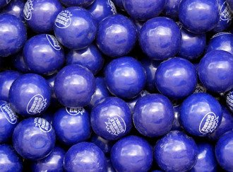 Grape Gumballs 25 mm