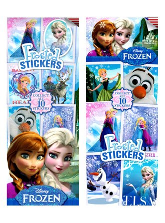 Stickers Disney Frozen Frosted Glitter (Series #2)