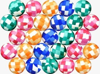 Color Sport Mixed Balls 27 mm