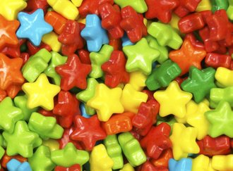 Neon Stars Candy